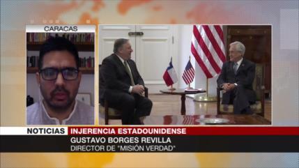 Borges: Pompeo intenta en Paraguay reordenar golpe antivenezolano