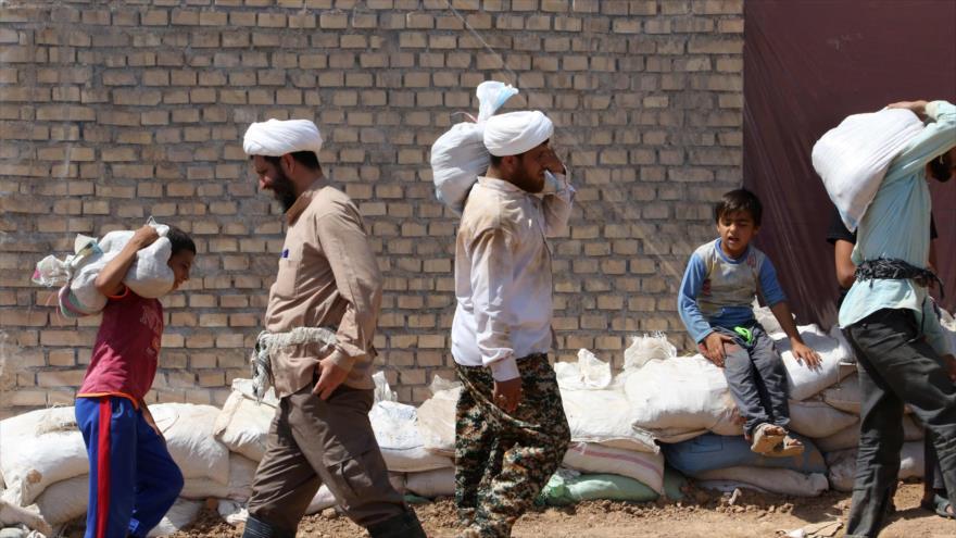 EEUU bloquea ayuda humanitaria a los afectados por riadas en Irán | HISPANTV