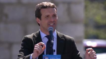 El segundo día de campaña electoral en España