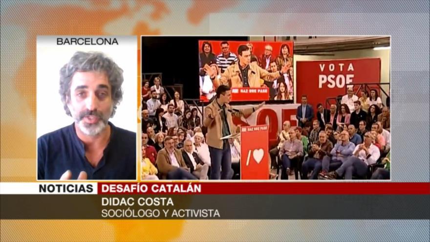 Costa: PSOE se ha vuelto cuarto partido de derechas en España