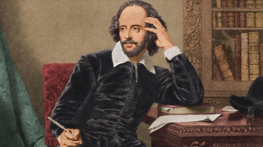 El dramaturgo inglés William Shakespeare (1564-1616)