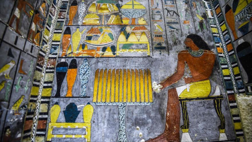 Descubren en Egipto una colorida tumba de 4300 años de antigüedad | HISPANTV