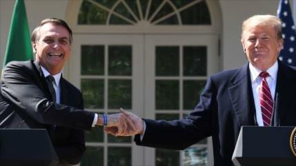 Bolsonaro: Brasil votará 'en línea' con Israel y EEUU en la ONU
