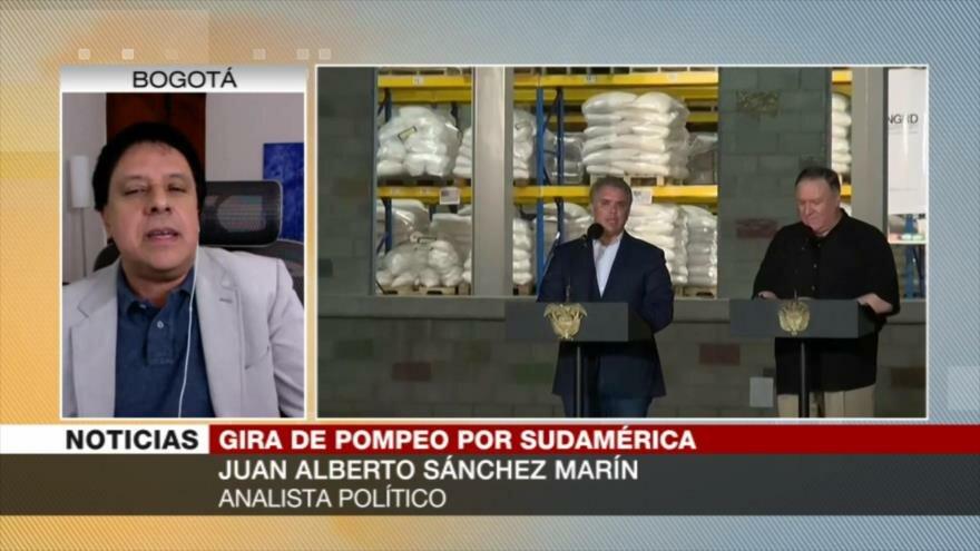 Gira latina de Pompeo muestra desespero de EEUU ante Venezuela