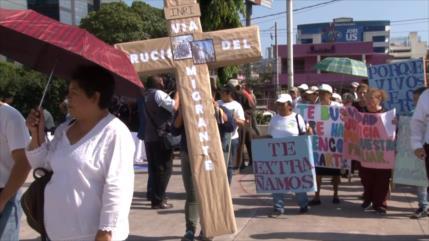 Salvadoreños denuncian violencia contra migrantes centroamericanos