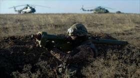 Ucrania realiza simulacros bélicos en desafío a Rusia