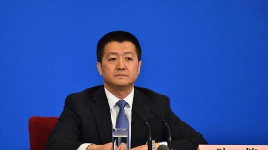 El portavoz del Ministerio de Exteriores de China, Lu Kang.