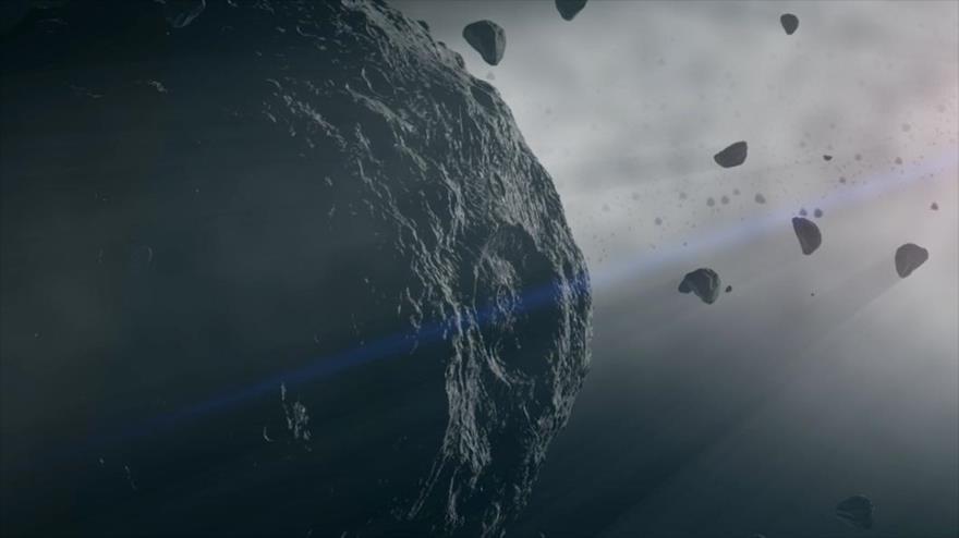 La nave espacial OSIRIS-Rex de la NASA capta imágenes espectaculares del la superficie de asteroide Bennu.