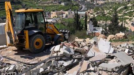 Palestina condena plan israelí para demoler más casas en Al-Quds