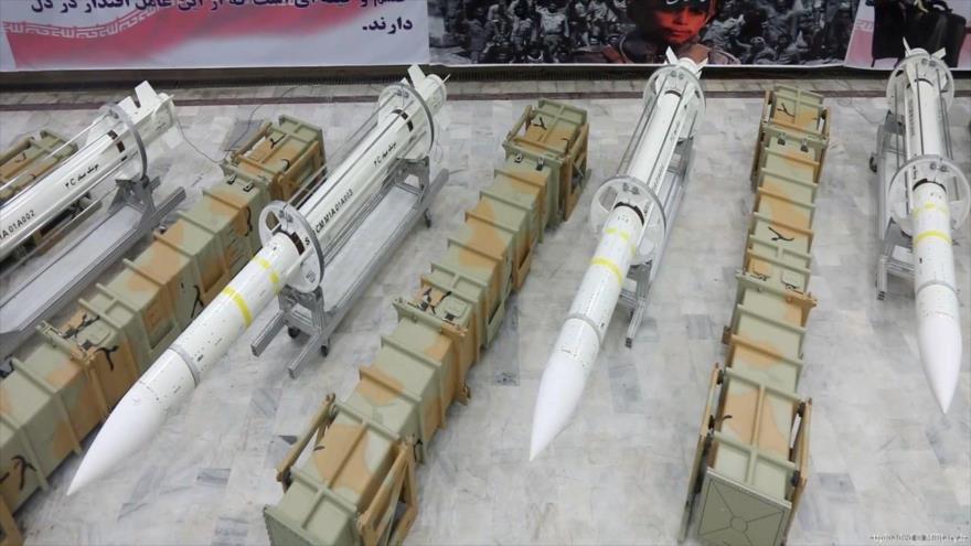 Misiles superficie-aire Sayad-3 de fabricación iraní.