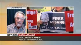 A. Makin: Assange revelaba siniestros de comportamiento de EEUU