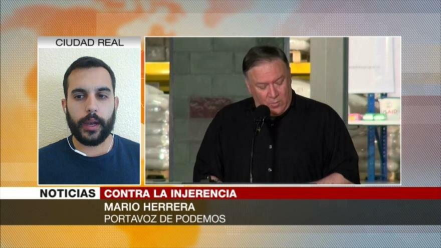 Herrera: EEUU está ilegitimado para repartir carnés de democracia