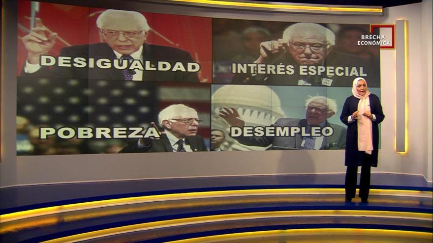 Brecha Económica: Bernie Sanders quiere empezar una revolución