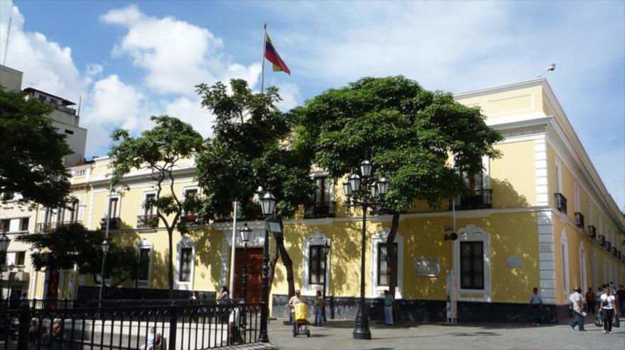 La sede de la Cancillería venezolana en Caracas.
