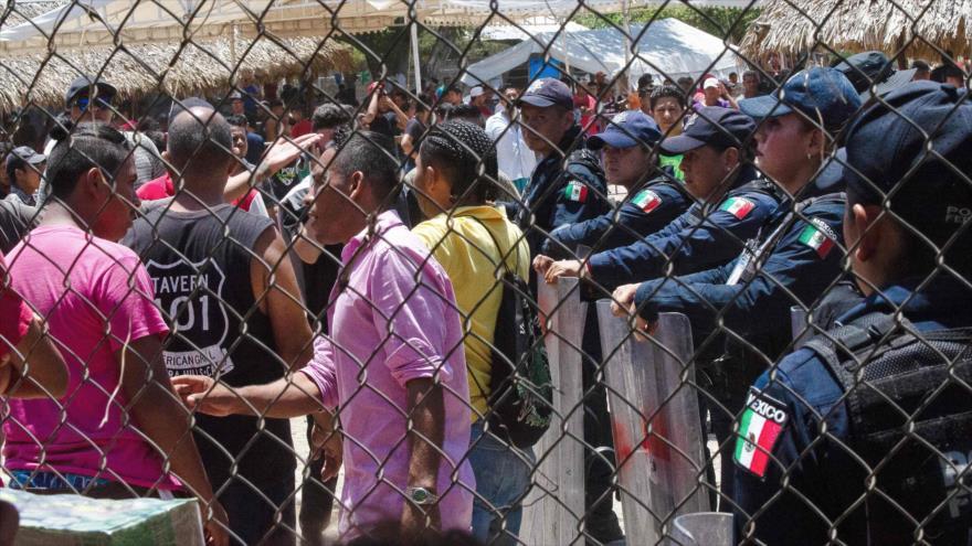 Nueva caravana de migrantes desafía a Trump y avanza hacia EEUU