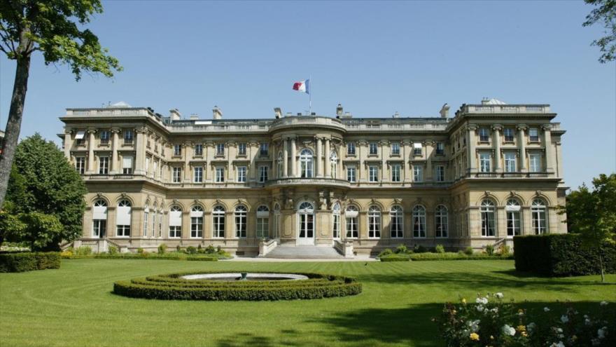 Sede del Ministerio de Exteriores de Francia en París, la capital.