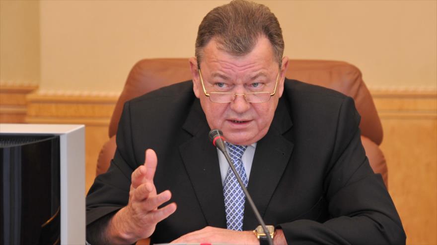 El viceministro ruso de Asuntos Exteriores, Oleg Syromolotov.