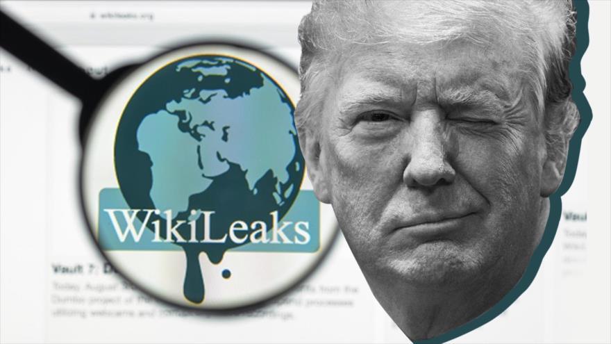 Trump, de 'amar' a WikiLeaks a 'no saber nada' de WikiLeaks
