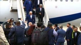 Zarif llega a Damasco para coordinar asuntos regionales con Siria