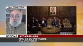 'Mejora de lazos Irán-Siria puede romper el monopolio imperial'