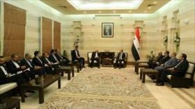 Damasco: Irán tendrá prioridad en la reconstrucción de Siria