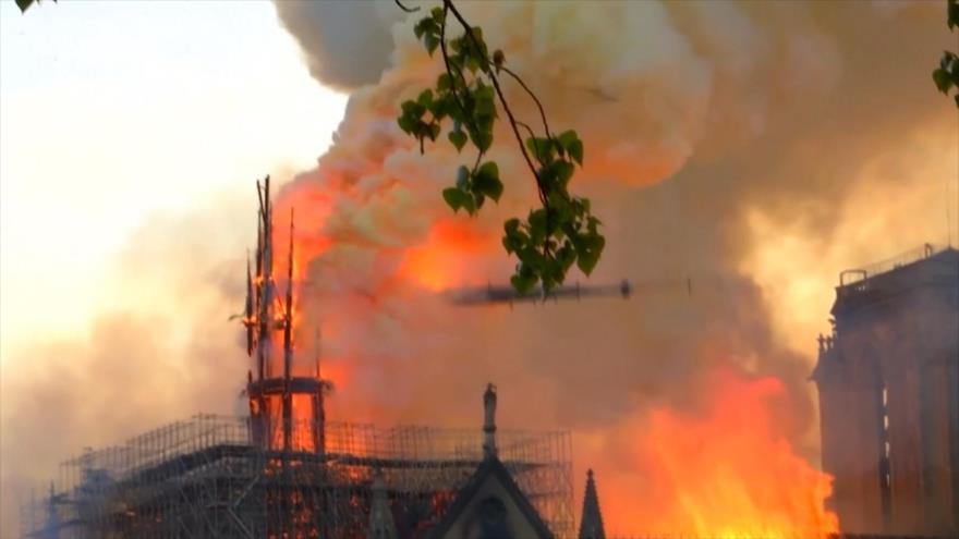 Descartan que el incendio en Notre Dame fuese provocado