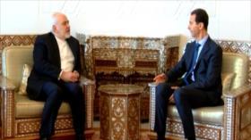 El canciller iraní se reúne con el presidente Al-Asad en Damasco