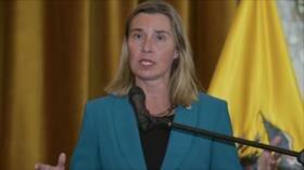 UE a Israel: No se puede modificar fronteras por fuerza militar