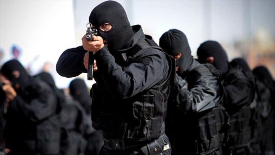 Fuerzas de seguridad de la República Islámica de Irán.