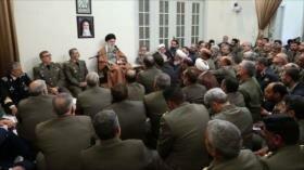 Líder iraní elogia ayuda de Fuerzas Armadas a afectados por riadas