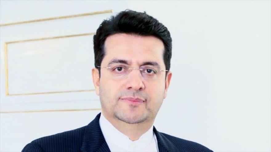 El portavoz de la Cancillería iraní, Seyed Abás Musavi.
