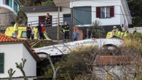 Accidente de autobús turístico en Portugal deja 28 muertos