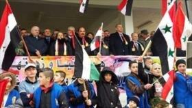 Sirios en Al-Quneitra y Golán celebran Día de la Independencia