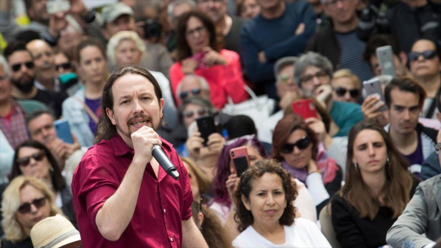 Iglesias pide votar contra quienes echan leña al fuego con Cataluña | HISPANTV
