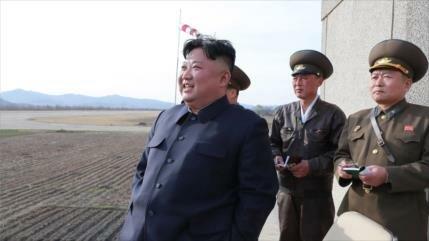 Corea del Norte prueba una nueva arma táctica guiada
