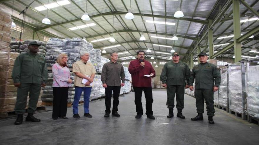 """Maduro asegura que nuevas sanciones de EEUU """"nos dan más fuerza"""""""