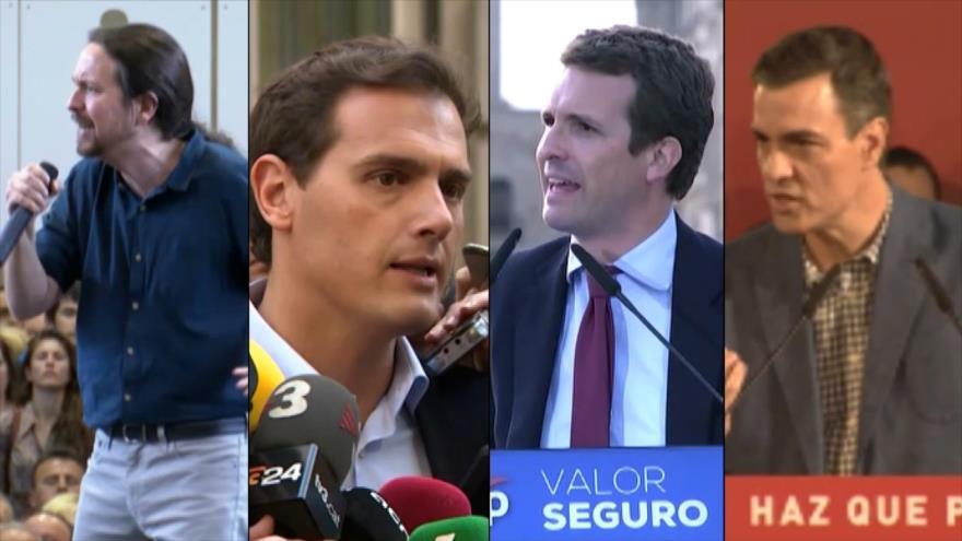 Candidatos a elecciones en España apuestan por debates televisivos