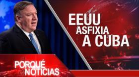 El Porqué de las Noticias: Suicidio de Alan García. Más sanciones contra Cuba. Presos palestinos.