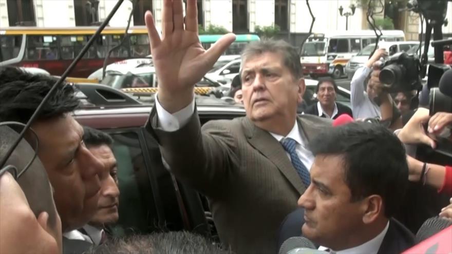 Expresidente Alan García se suicida para evitar la cárcel | HISPANTV