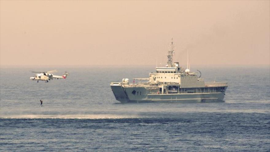 Vídeo: Irán y Omán efectúan maniobras conjuntas en alta mar