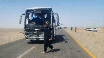Mueren tiroteados 14 pasajeros de varios autobuses en Paquistán