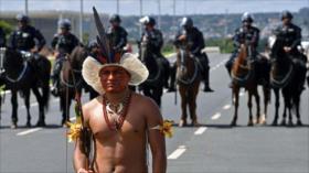 Brasil usará Fuerza Nacional contra protestas indígenas