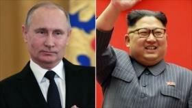 Líder norcoreano se reunirá con Putin en Rusia a finales de abril