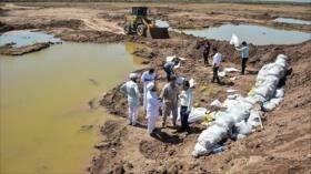 Siguen labores de reconstrucción en zonas inundadas de Irán
