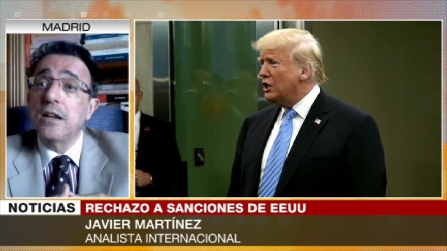 Martínez: UE defenderá su interés ante sanciones de EEUU a Cuba y Caracas