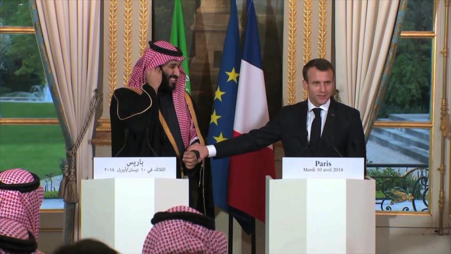 Arabia Saudí utiliza armas francesas contra Yemen