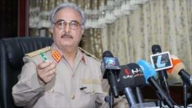 Gobierno libio en Trípoli ordena la detención del general Haftar