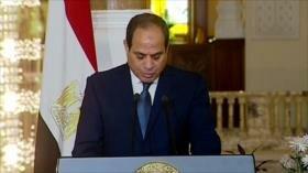 No a Al-Sisi. Informe de Mueller. Sanciones de EEUU