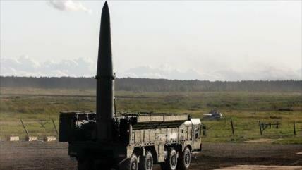 Foto: Rusia despliega en Siria misiles balísticos Iskander-M