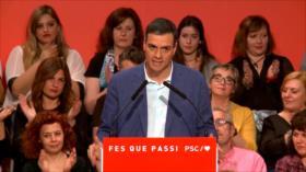 Sánchez: Nunca habrá referéndum de independencia en Cataluña